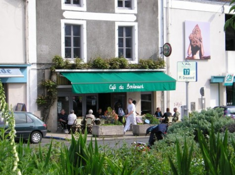 Café du Boulevard (Melle), 1er avril 2017 - OÙ VA MA RAGE